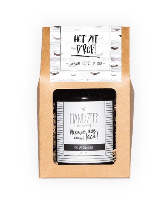 Handzeep giftbox - Zit d'rop