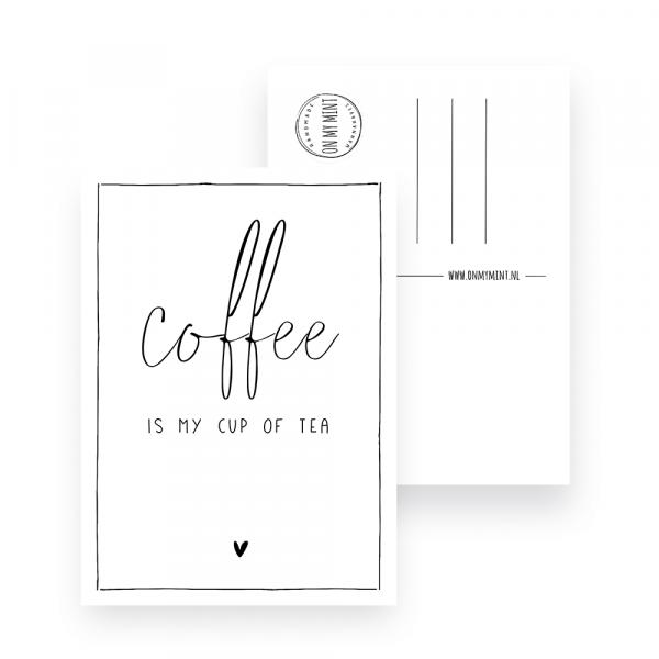 Kaart - Quote coffee - Cup of tea