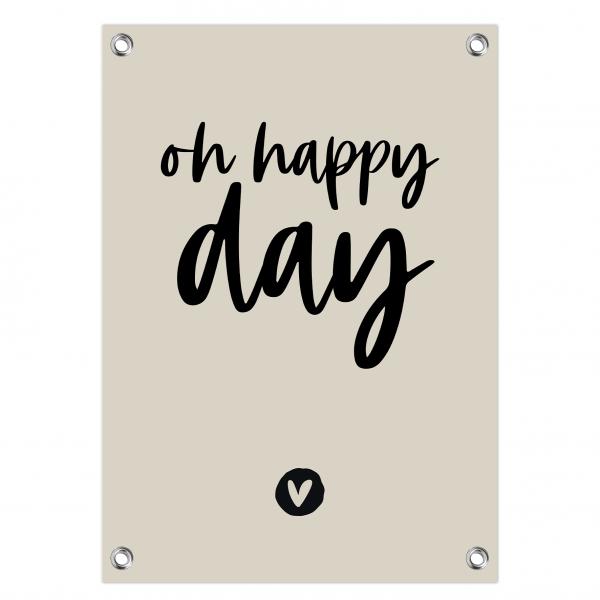 1. Oh happy day grijs-zwart website