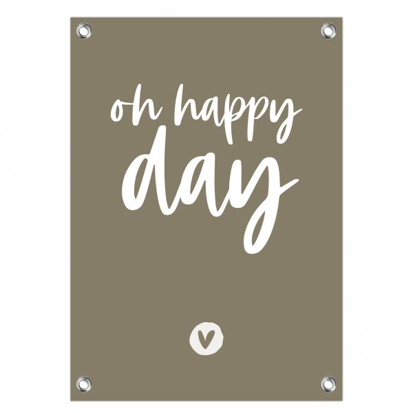 7. Oh happy day olijf-wit website