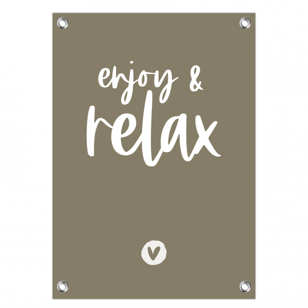 Enjoy and relax olijf-wit website