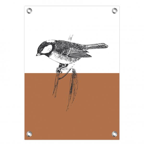 Tuinposter Bird roest