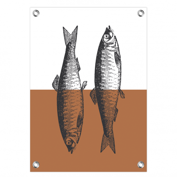 Tuinposter Fish roest
