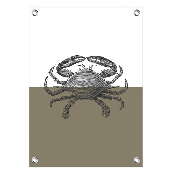 Tuinposter Crab olijf