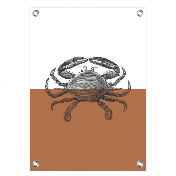 Tuinposter Crab roest