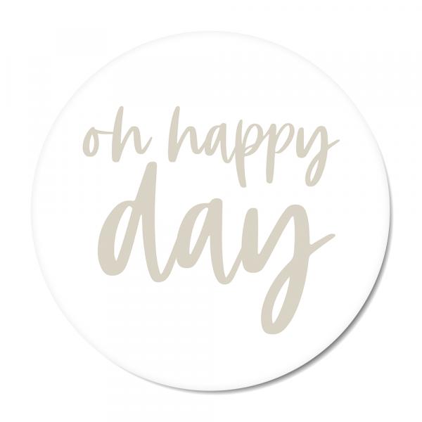 Oh happy day - grijs