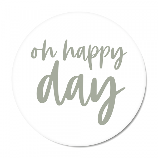 Oh happy day - mint