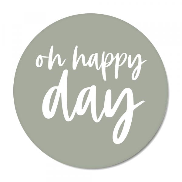 Oh happy day - mint BG