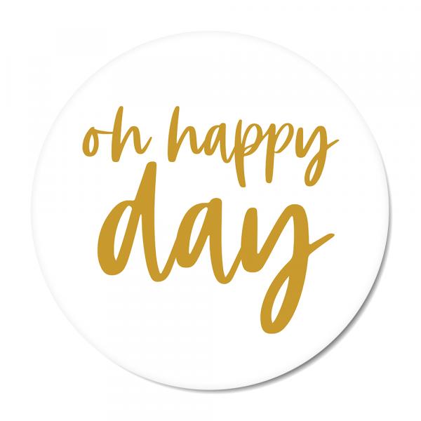 Oh happy day - oker