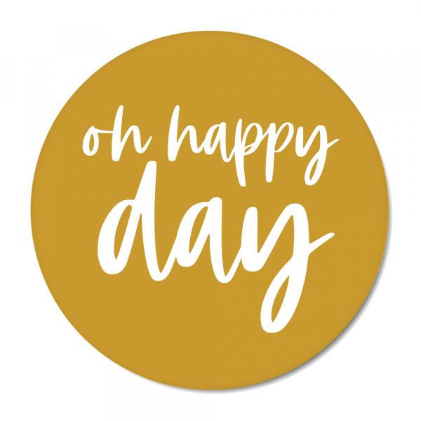 Oh happy day - oker BG