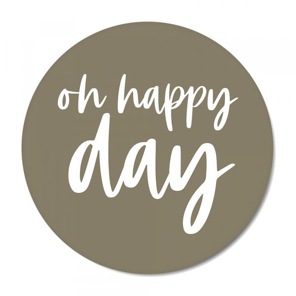 Oh happy day - olijf BG
