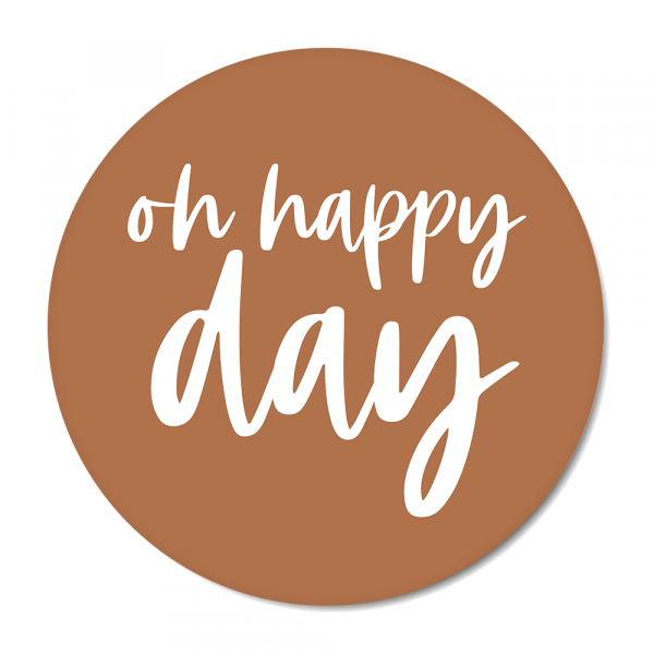 Oh happy day - roest BG