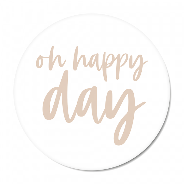 Oh happy day - roze