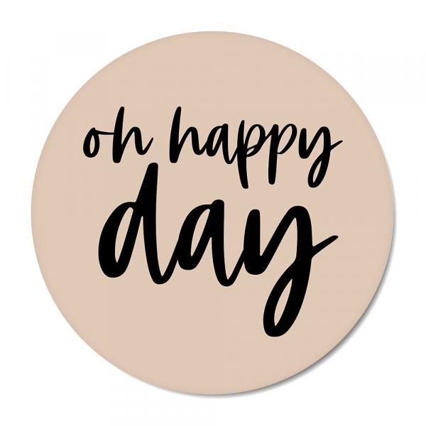 Oh happy day - roze BG