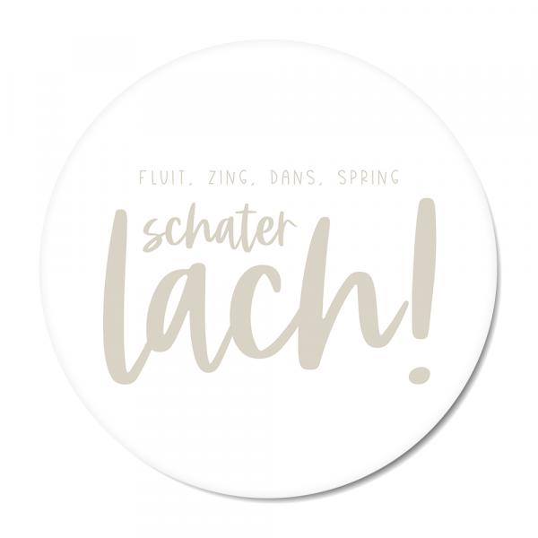 Schaterlach - grijs