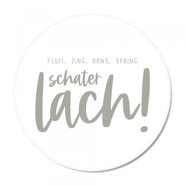 Schaterlach - mint