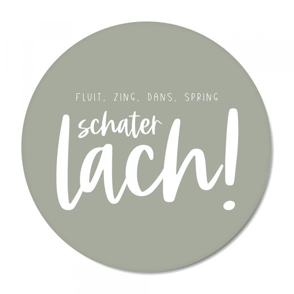 Schaterlach - mint BG