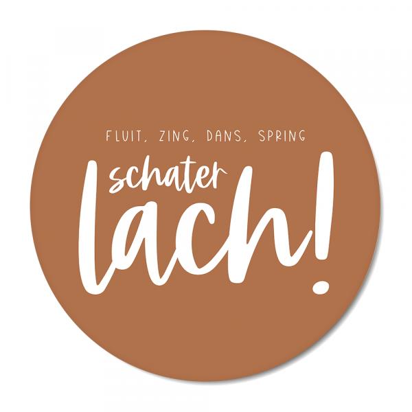 Schaterlach - roest BG