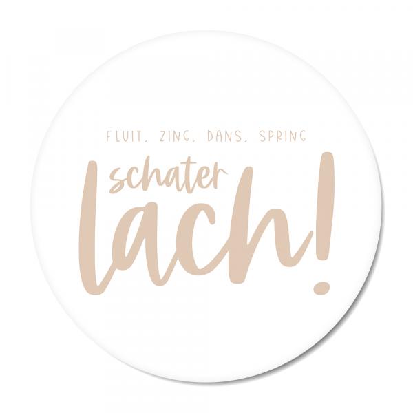 Schaterlach - roze