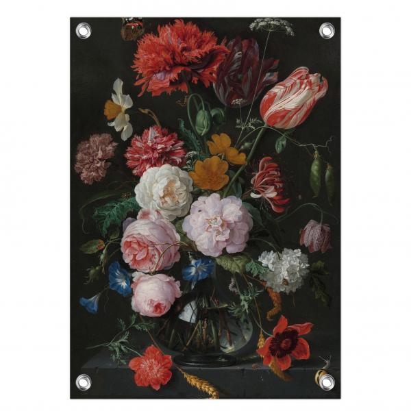 Tuinposter Stilleven met bloemen