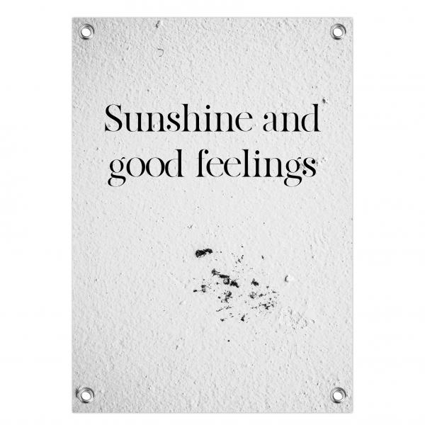 Tuinposter - sunshine feelings - sunshine