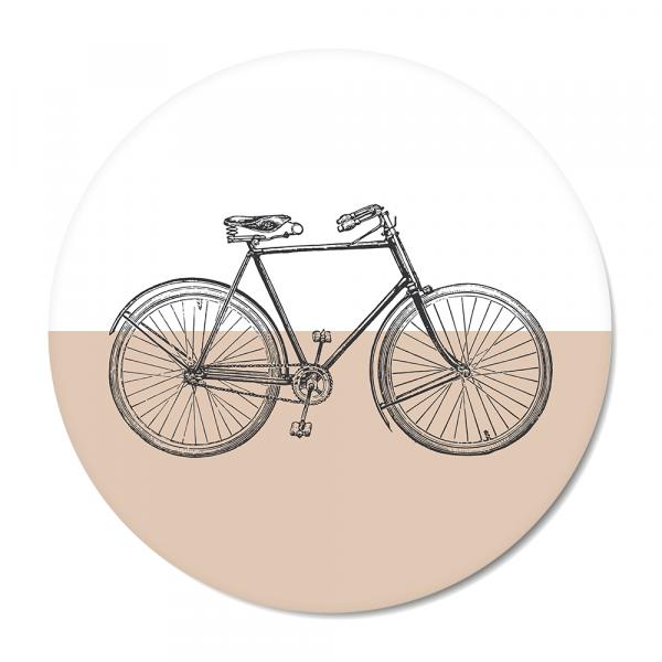 Cirkel - vintage bike roze