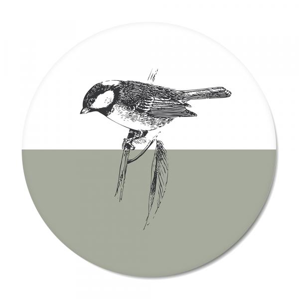 Vintage - bird - mint