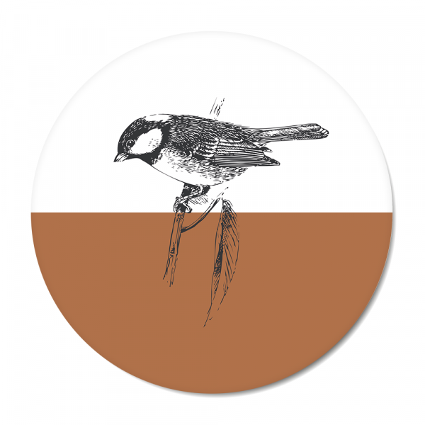 Vintage - bird - roest