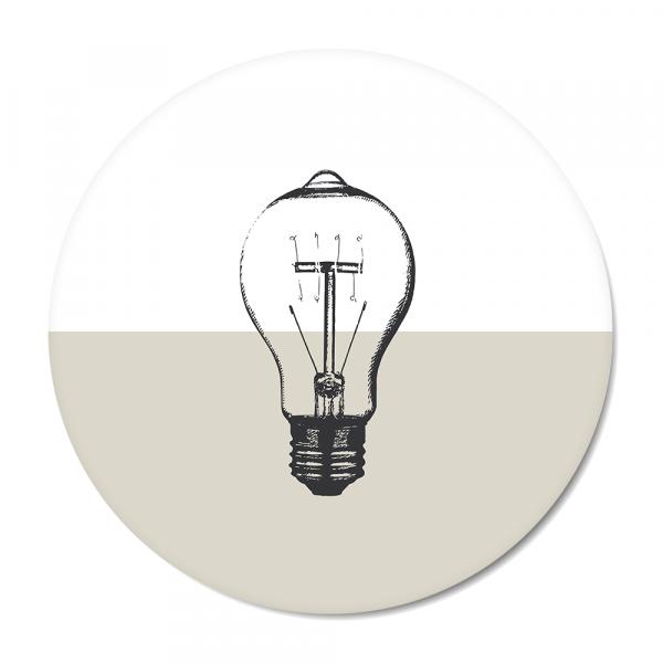 Vintage - bulb - grijs