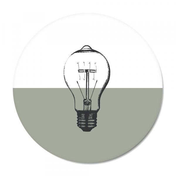 Vintage - bulb - mint