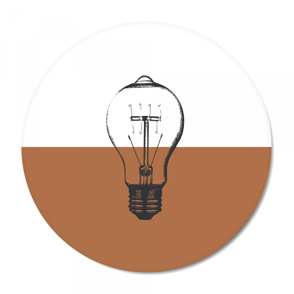 Vintage - bulb - roest