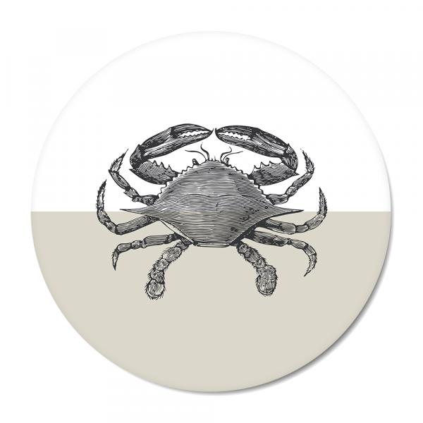 Vintage - crab - grijs
