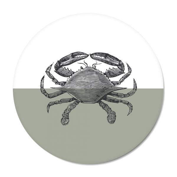 Vintage - crab - mint