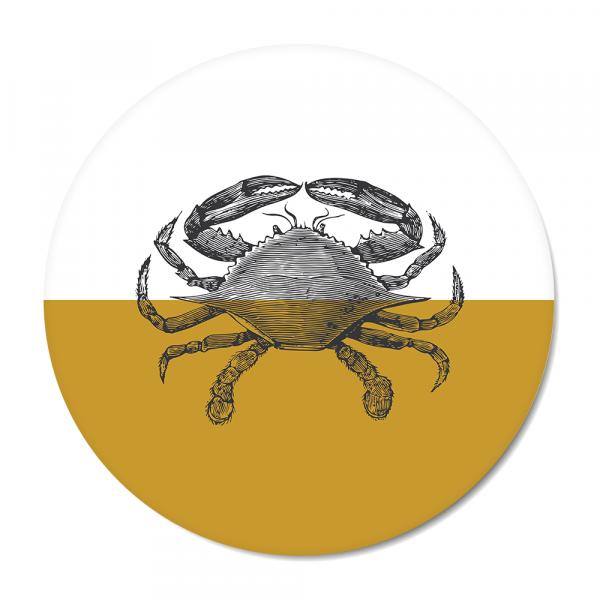 Vintage - crab - oker