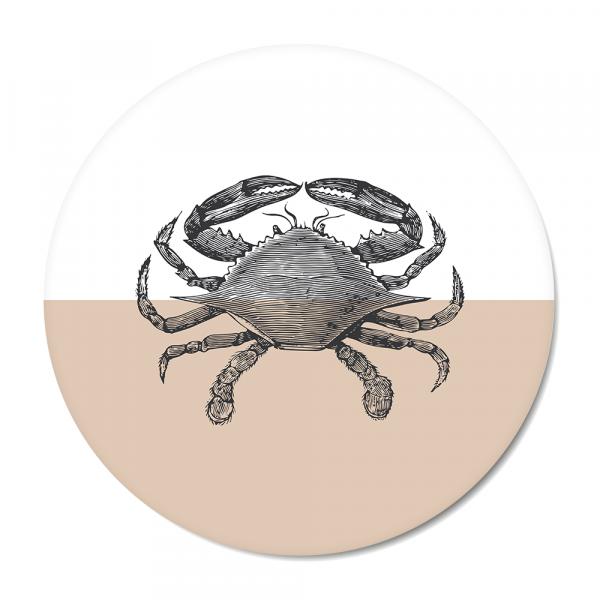 Vintage - crab - roze