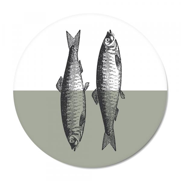 Vintage - fish - mint