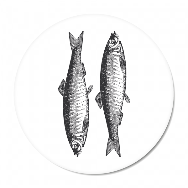 Vintage - fish - wit