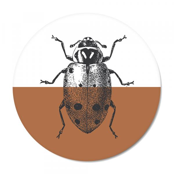 Vintage - ladybug - roest