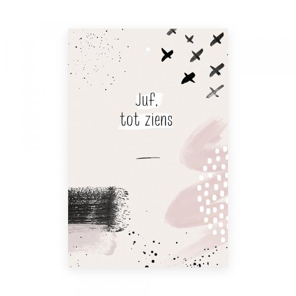 adeaukaart Juf Tot ziens
